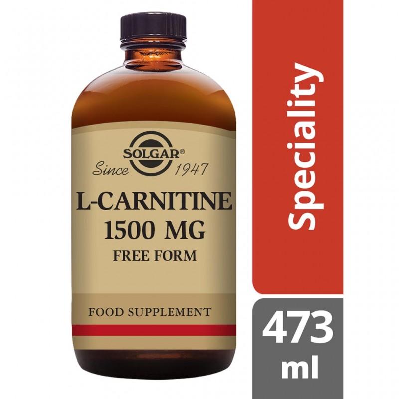 Solgar L-Carnitine 500 mg Tablets 60s