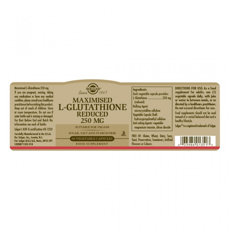 Solgar Coenzyme Q-10 30 mg Softgels 30s