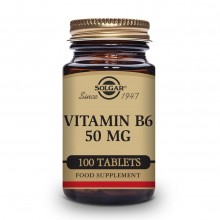 Solgar Vitamin B6 50 mg 100...