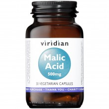 Viridian Malic Acid 500mg...