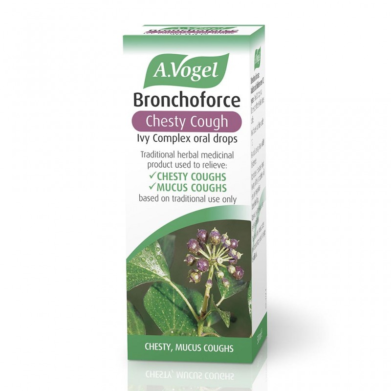 A. Vogel Bronchoforce Chesty Cough Ivy Complex Oral Drops 50ml
