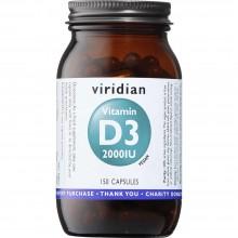 Viridian Vitamin D3 (Vegan)...