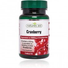 Natures Aid Cranberry 200mg...
