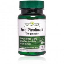 Natures Aid Zinc Picolinate...