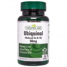 Natures Aid Ubiquinol 50mg...