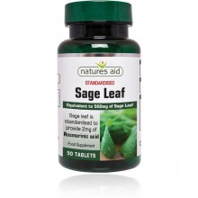 Natures Aid Sage Leaf 50mg...