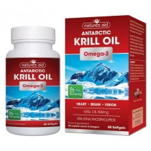 Natures Aid Krill Oil 500mg...