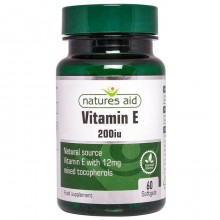 Natures Aid Vitamin E 200IU...