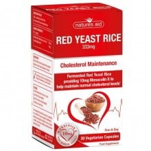 Natures Aid Red Yeast Rice...