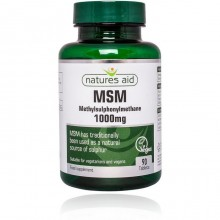 Natures Aid MSM 1000mg 90...