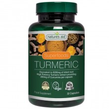 Natures Aid Turmeric 8200mg...