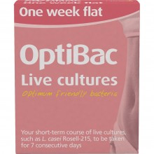 Optibac Probiotics One Week...