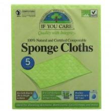 If You Care Sponge Cloths -...