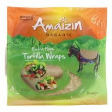 Amaizin Extra Fibre Tort Wraps
