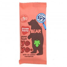 Bear Yoyo Fruit Rolls Strawb