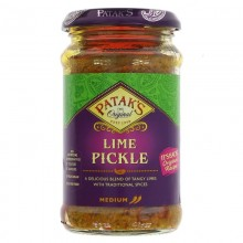 Pataks Lime Pickle Mild 283g