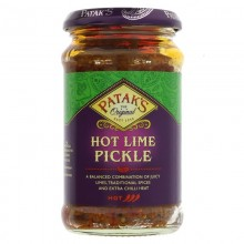 Pataks Lime Pickle Hot