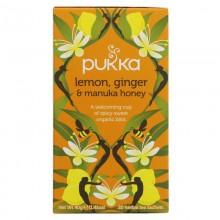 Pukka Lemon Ginger Manuka...