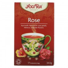 Yogi Teas Organic Rose Tea...