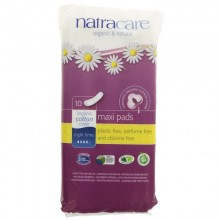 Natracare Night Time Pads 10s