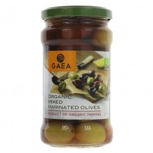 Gaea Organic Mixed Olives 300g