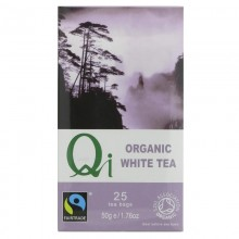 Qi Organic White Tea 25 bags