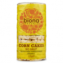 Biona Corn Cakes Unsalted 110g