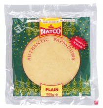 Natco Poppadoms - Plain 200g