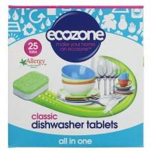Ecozone Dishwasher Tablets 25