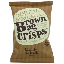 Brown Bag Crisps Lightly...