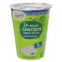 Sojade Organic Greek Style...