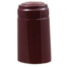 Youngs Shrink Caps Burgandy