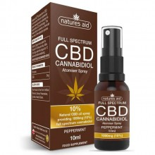 Natures Aid CBD Oil Spray...