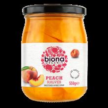Biona Organic Peach Halves...