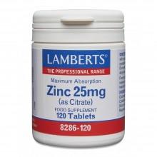 Lamberts Zinc 25mg 120s