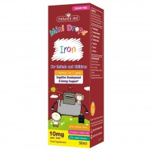Natures Aid Mini Drops Iron...