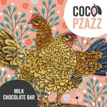 Coco Pzazz Milk Choc Bar -...