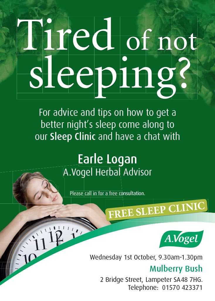 Earle Logan Sleep Clinic Poster