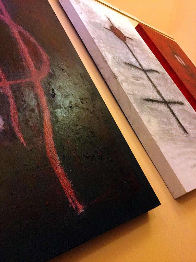 Mandi Laugharne Triptych